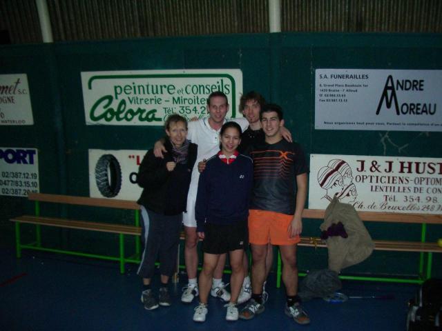 Interclub mixte Waterloo - Grâce (2006)