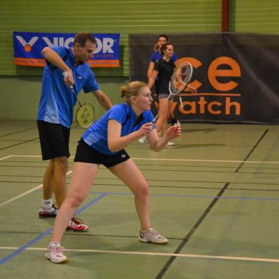 Interclub N2 : Justine et Bruno