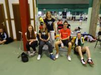 Les jeunes ( Sarah, Katy, Maude, Jérémy, Maxime)